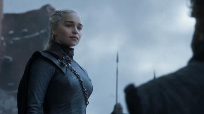 Daenerys in un'immagine dal finale di Game of Thrones