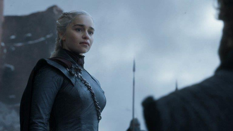 Daenerys in un'immagine dal finale di Game of Thrones