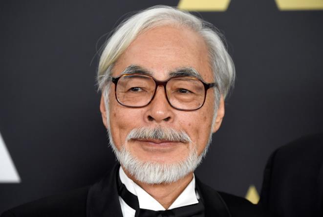 Il regista Hayao Miyazaki