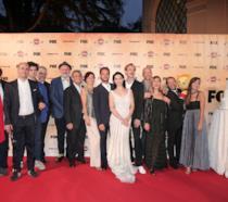 Festone a Roma per Romolo + Giuly: le foto e il video del Red Carpet