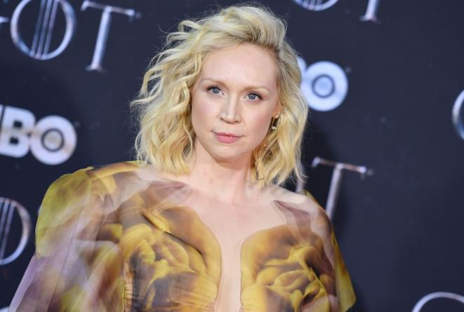 Gwendoline Christie alla prima di Game of Thrones