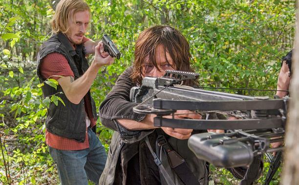 La scena finale dell'episodio 6x15 di The Walking Dead