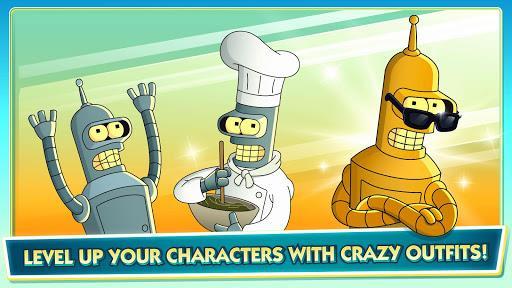Bender normale, in uniforme da cuoco e in versione dorata