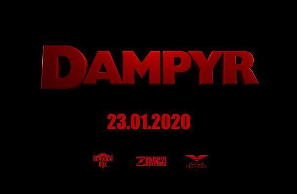 Un'immagine teaser per il live-action di Dampyr