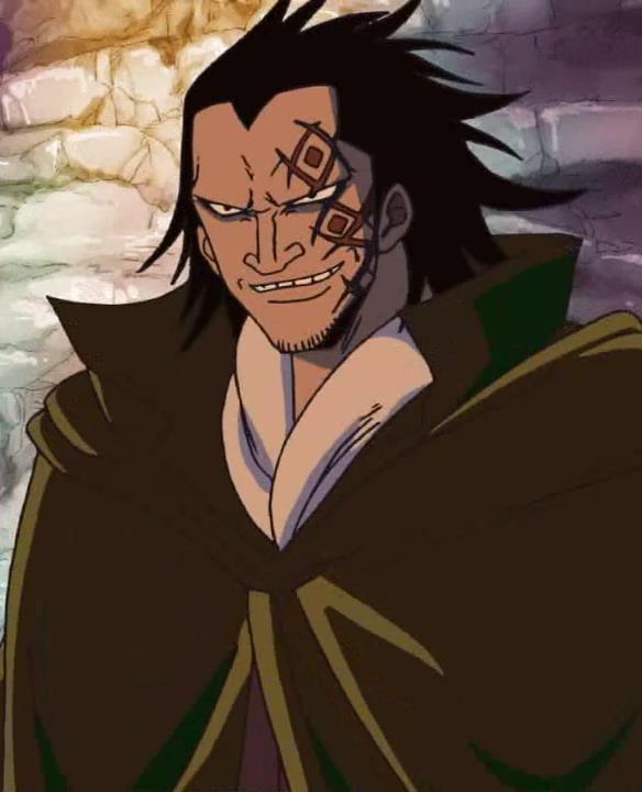 Dragon padre di Rufy