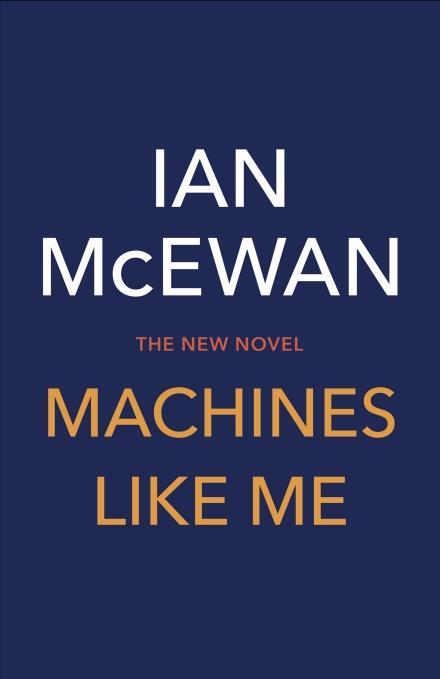 La copertina provvisoria di Machine Like Me