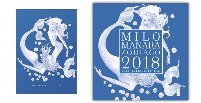 Calendario Zodiaco.Il Calendario 2018 Di Milo Manara E Dedicato Allo Zodiaco