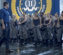 Un'immagine del quattordicesimo episodio di Quantico