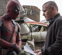 Tim Miller sul set di Deadpool