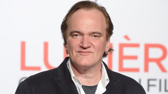 Quentin Tarantino sul red carpet