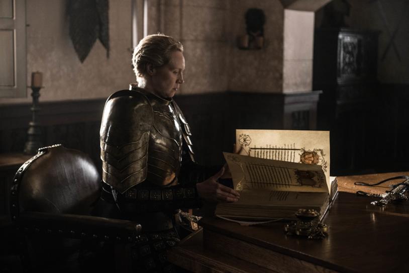 Gwendoline Christie in Game of Thrones 8x06