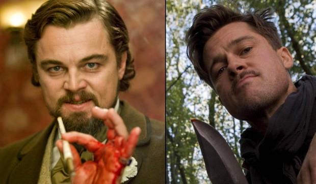 Leonardo di Caprio e Brad Pitt