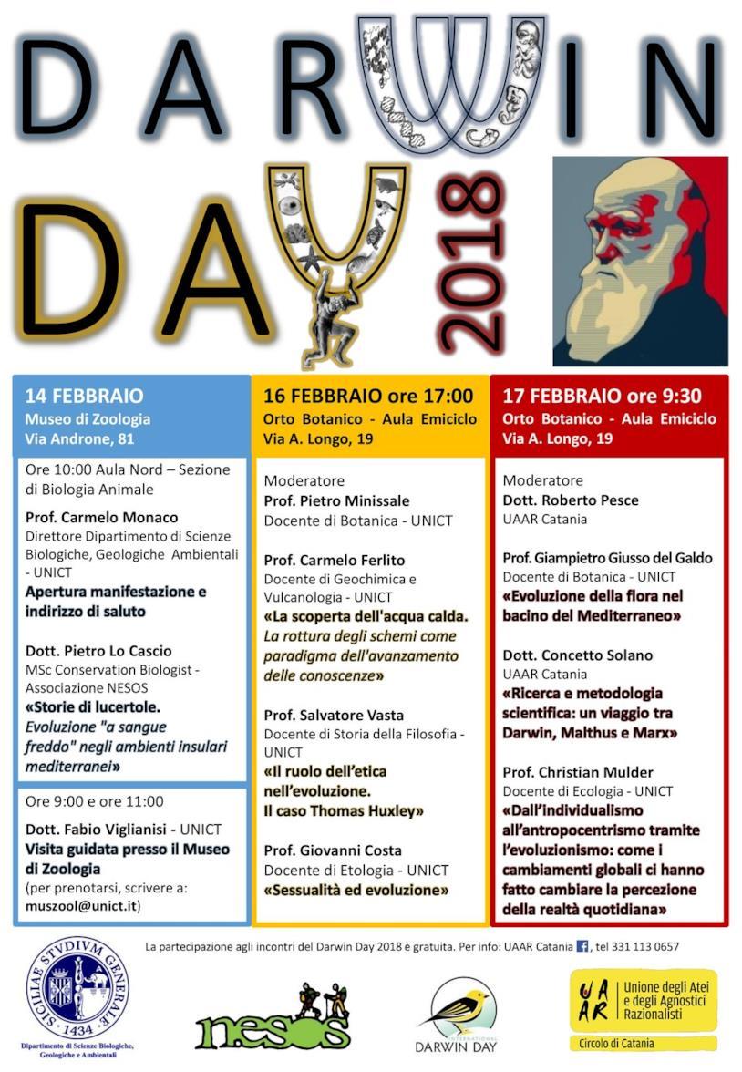 Calendario Medicina Unict.Darwin Day L Italia Celebra La Nascita Di Charles Darwin