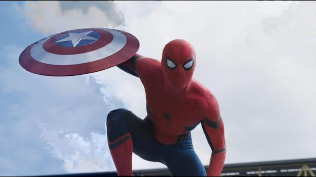 Ecco Spider-Man in Captain America: Civil War