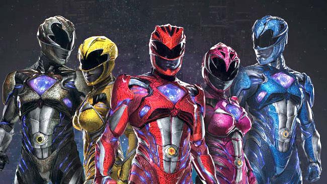I Power Rangers del reboot ridisegnati per il fumetto dei Boom! Studios