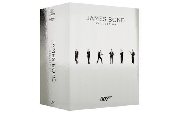 Il cofanetto James Bond