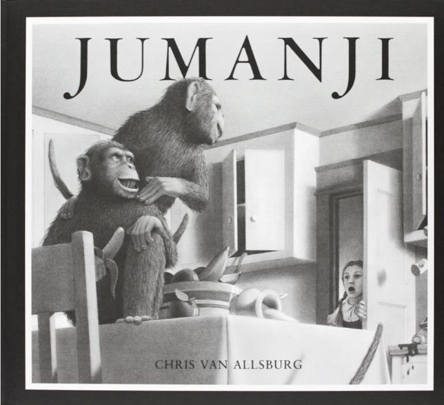La copertina di Jumanji
