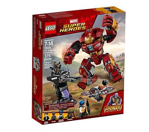 Dettagli del Box del set LEGO Duello con l'Hulkbuster