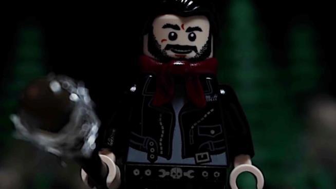 Il personaggio LEGO di Negan