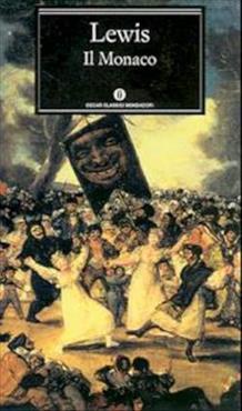 La copertina del romanzo gotico Il monaco