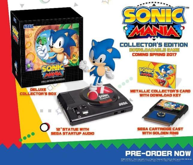 Sonic Mania in uscita il 15 agosto