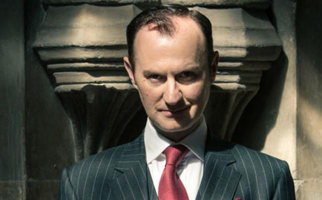 Mark Gatiss in Sherlock