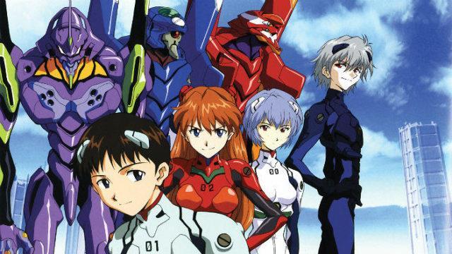 Evangelion robot e personaggi