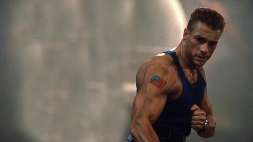 Jean-Claude Van Damme nel ruolo del colonnello Guile