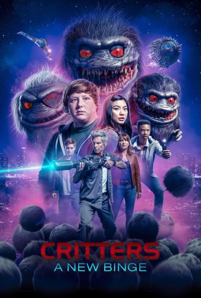 Critters: A New Binge, il poster della nuova serie TV