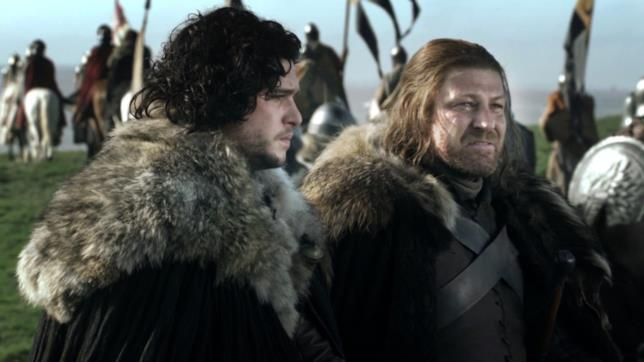 GoT: Jon Snow e Ned Stark
