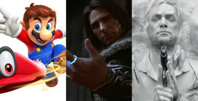 Alcuni dei protagonisti dei videogiochi in uscita a ottobre 2017
