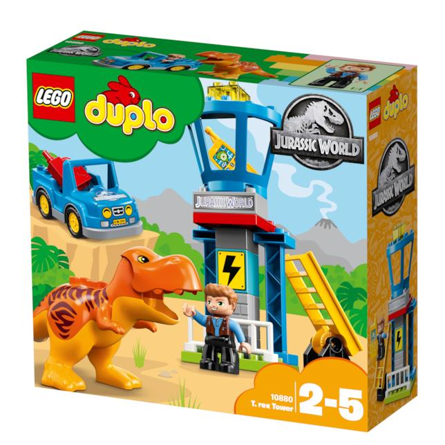 Dettagli del box del set LEGO DUPLO La torre del T. rex