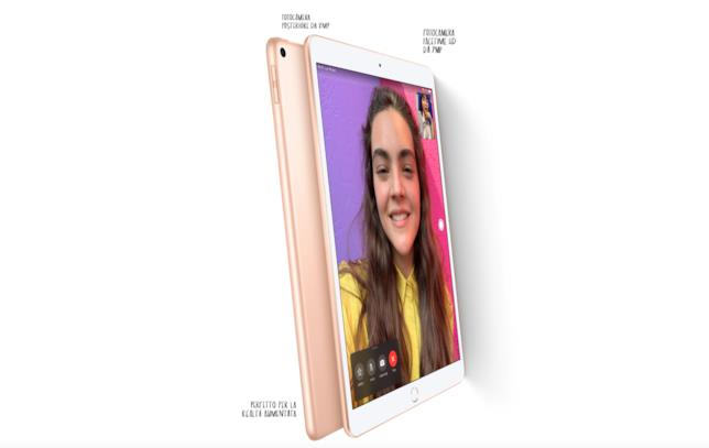 Immagine stampa del nuovo iPad Air