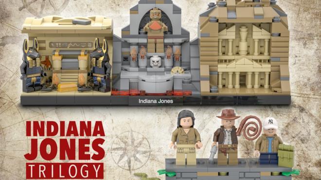 I set LEGO dei primi tre film di Indiana Jones