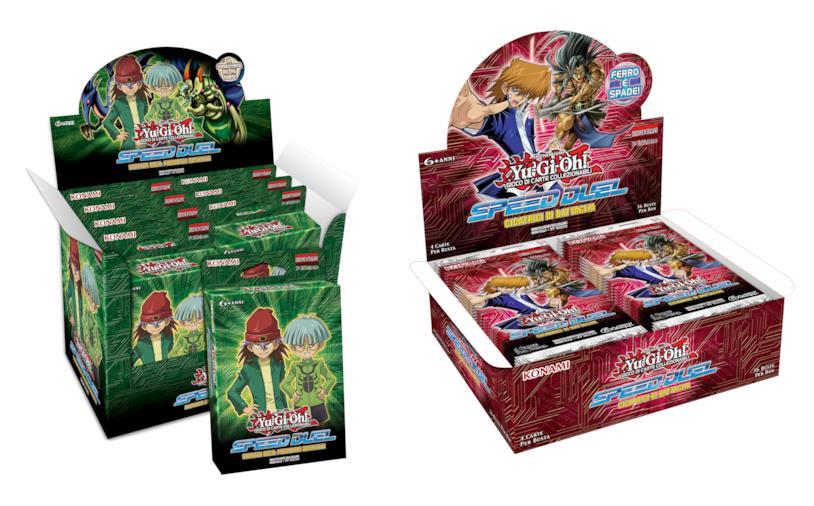 I nuovi prodotti legati a Yu-Gi-Oh! Speed Duel