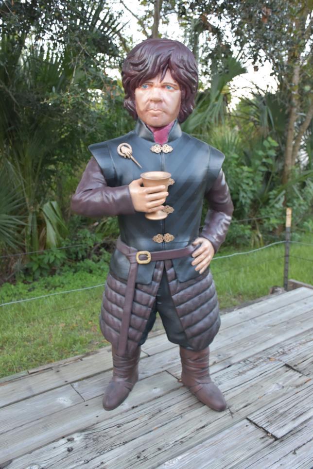 Tyrion Lannister, ecco il modello stampato in 3D