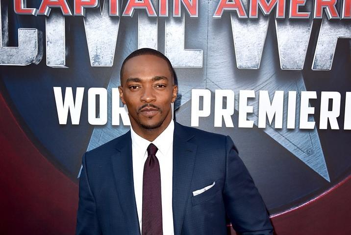 Anthony Mackie alla premiere di Captain America: Civil War