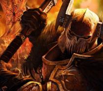 Un guerriero di Warhammer Quest 2