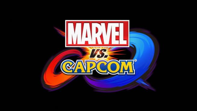 Il logo di Marvel vs. Capcom Infinite