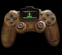 Un'immagine in primo piano del controller