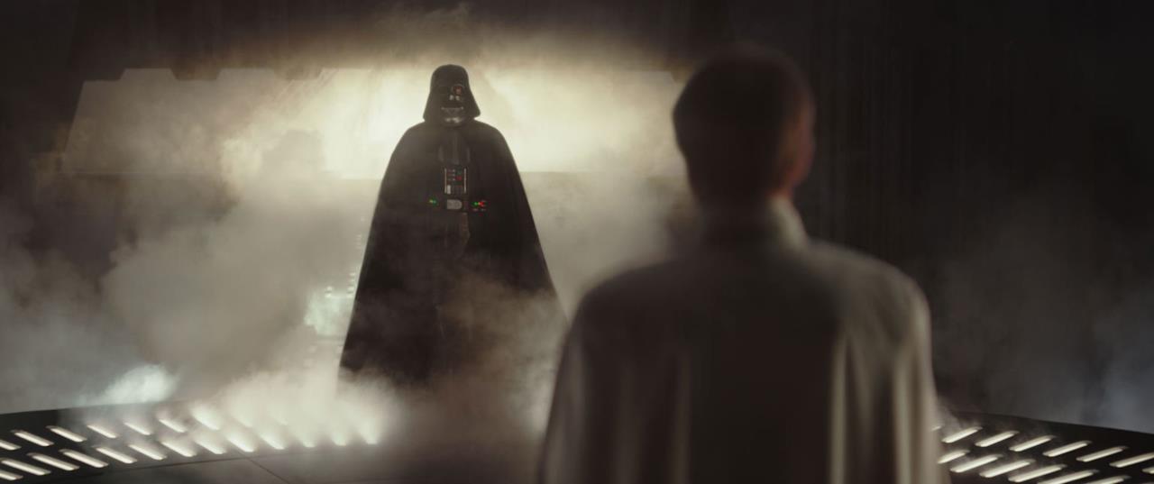 Darth Vader appare a Krennic