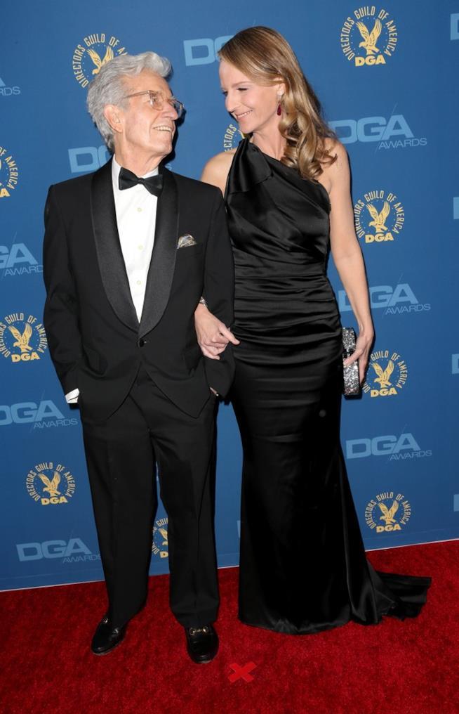 Gordon Hunt con la figlia Helen Hunt