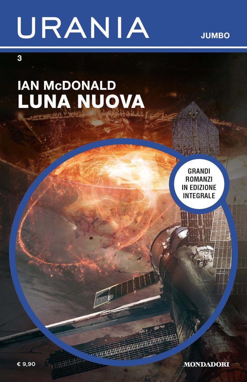 La copertina di Luna nuova