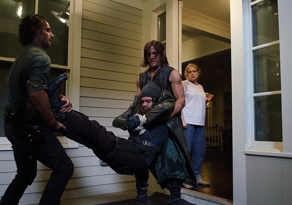 Rick e Daryl catturano Jesus