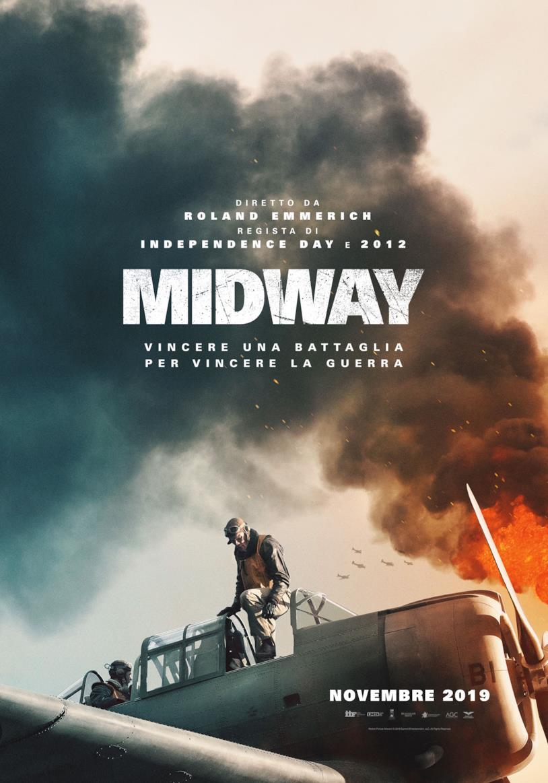 Il poster italiano di Midway