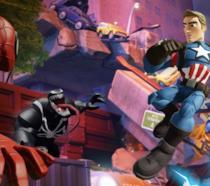 Una scena di Disney Infinity 3.0 ambientata nel mondo Marvel
