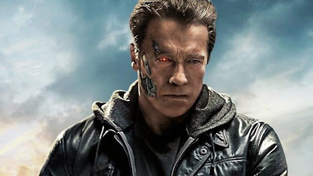 Arnold Schwarzenegger nei panni di Terminator