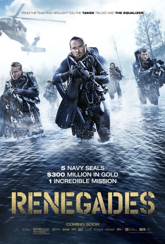 Renegades - Commando d'Assalto: il poster del film
