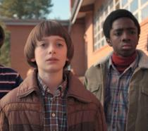 I giovani protagonisti di Stranger Things