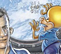 La cover del nuovo fumetto di Ortolani con protagonista Rat-Man